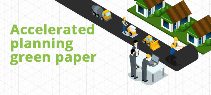 Accelerated planning green paper