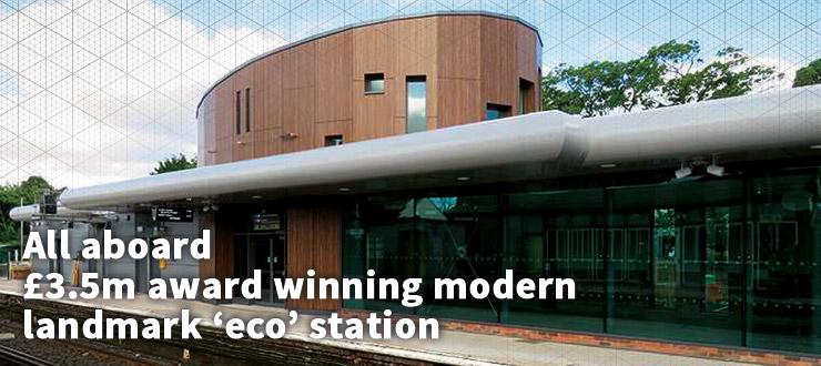All aboard - £3.5m award winning eco station